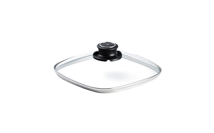 """8 x 8"""" Square Tempered Glass Lid"""