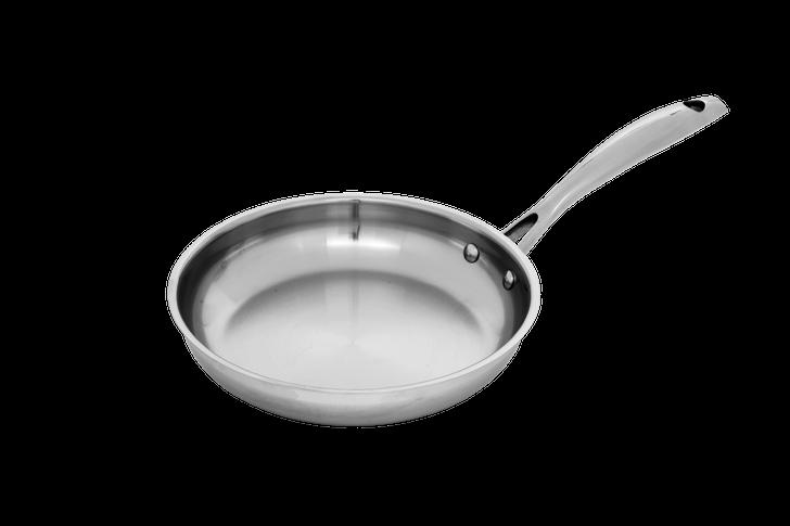 "8"" Stainless Fry Pan | Premium Steel"