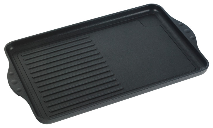 XD Classic Nonstick Double-Burner Grill/Griddle Combo