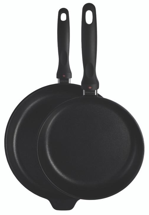 "XD Induction 2 Piece Set: Fry pan Duo - 9.5"" (24cm) & 11"" (28cm)"