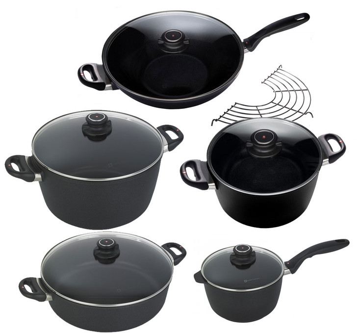 XD 10 Piece Set: Asian Wok and Cookware Set