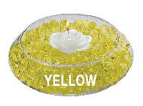 Water Storing Deco Beads 8 oz Yellow