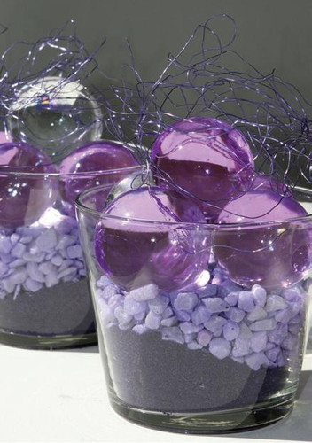 Water Storing Deco Balls 12 oz Jar Clear