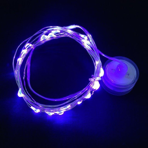 Toronado - 20 UV Purple LEDs on 9' Memory Wire - Submersible
