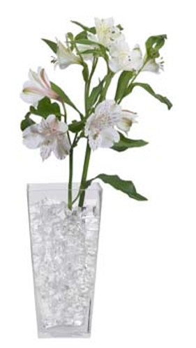 Water Storing Deco Cubes 10 oz Clear