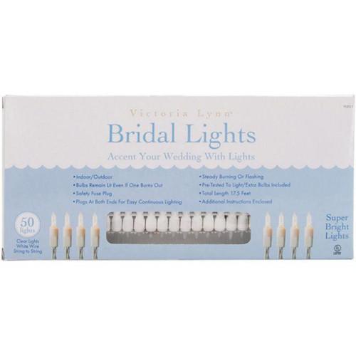 Victoria Lynn Bridal Lights - 50 Clear Lights - 17.5'