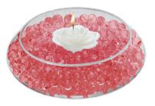 Water Storing Deco Cubes 10 oz Red
