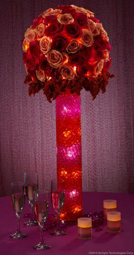 Water Storing Deco Beads 8 oz Pink