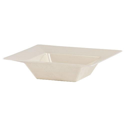 Plastic Squares 5 oz Bowl Cream - 10 Ct.