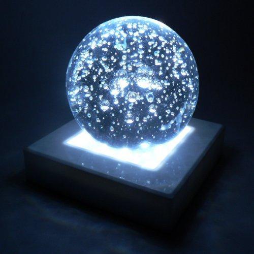 White Light Base - 5 inch Square, 16 White LED Lights