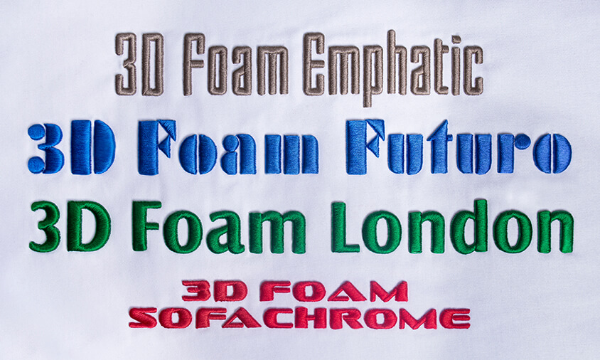 Font Pack #11 – 3D Puffy #2