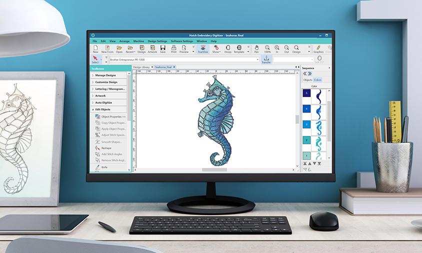 Hatch Embroidery Digitizer - FlexPay