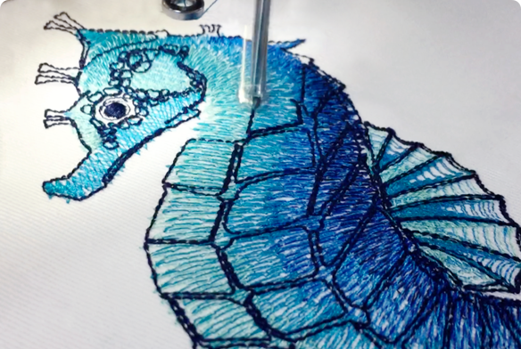 Stitch your embroidery design