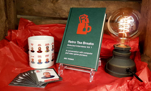 The collectors box set includes a signed book, guest cards and mug