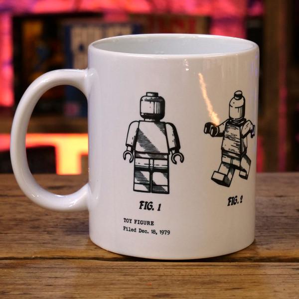 Toy Figure Patent Print Mug