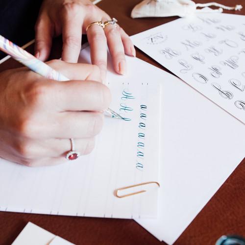 Pointed Pen Basics: A-Z Workshop | Littleton, CO | 03.14.2020