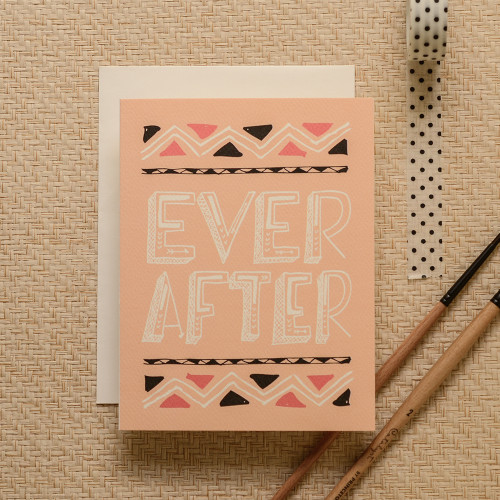 Ever After Arrows Greeting Card