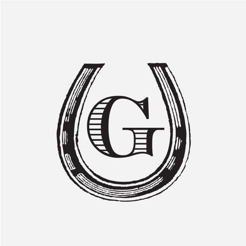 """Horseshoe"" Initial Monogram Stamp"