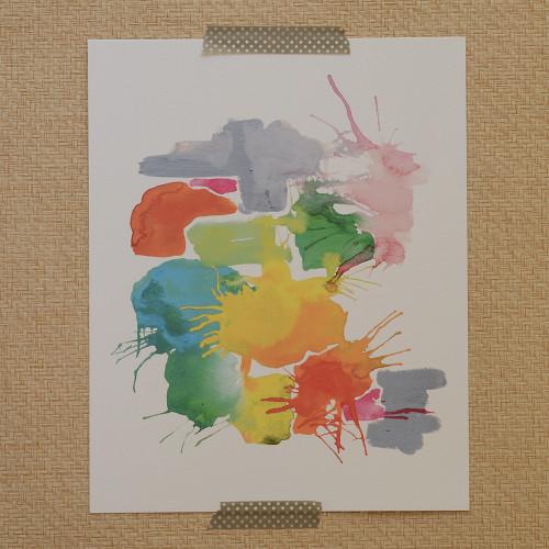 Colorsmash Art Print