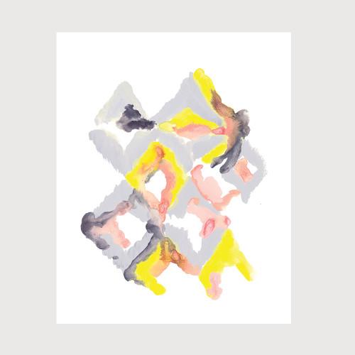 Diamondesque Art Print
