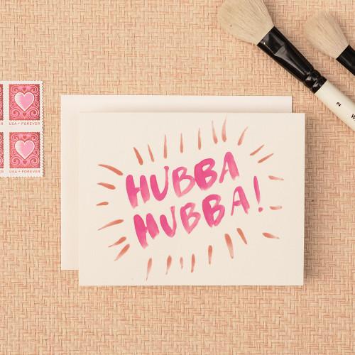 Hubba Greeting Card