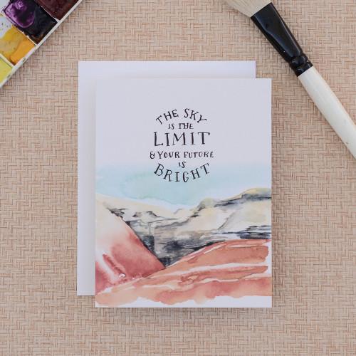 Big Sky, Bright Future Greeting Card