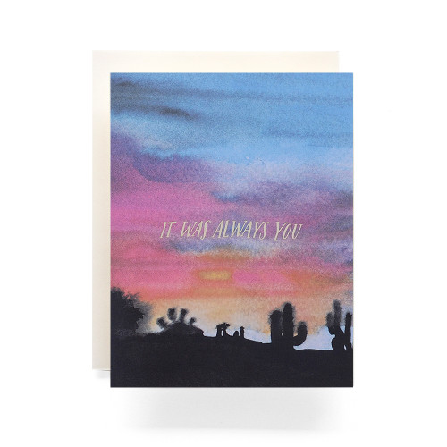 Sunset, Always You Greeting Card