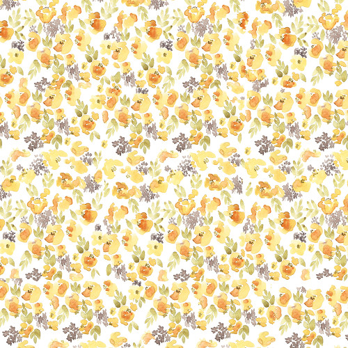 Chloe Yellow Wrapping Sheet, 20x29