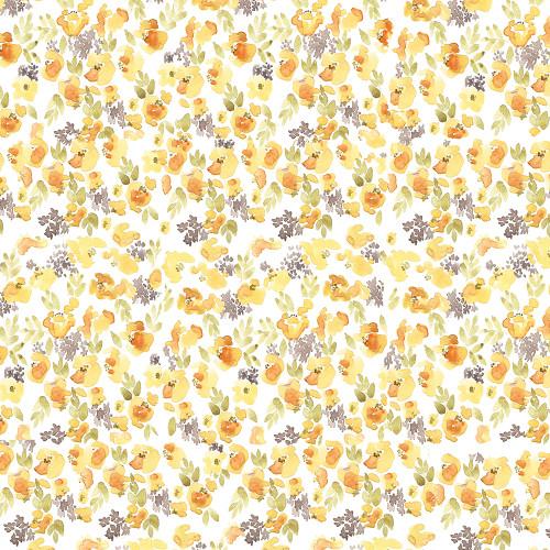 Chloe Yellow Wrapping Sheet, 20x29