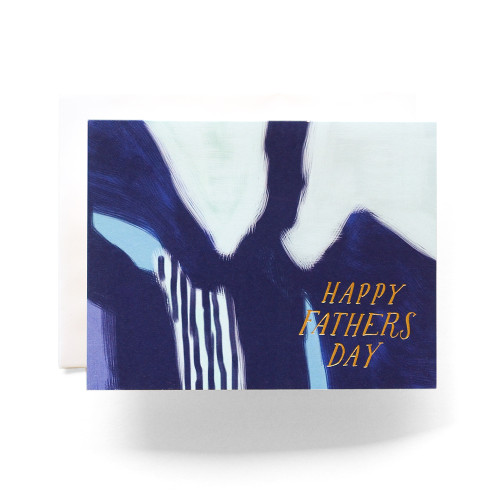Abstract Father's Day Greeting Card