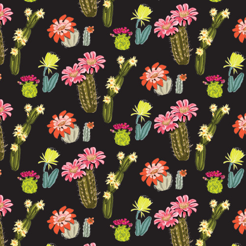 Cactus Garden Wrapping Sheet, 20x29