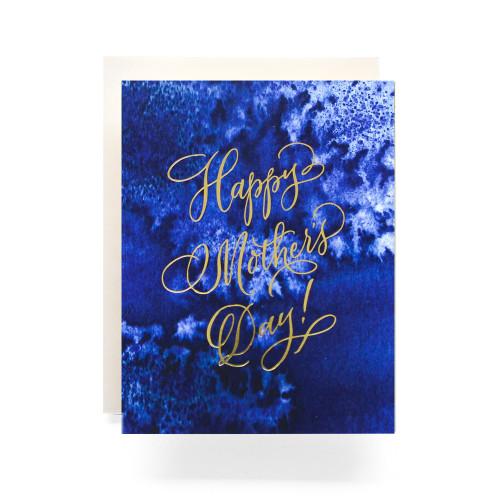 Indigo Mother's Day Greeting Card