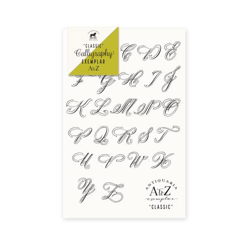 """Classic Calligraphy"" Exemplar Kit"