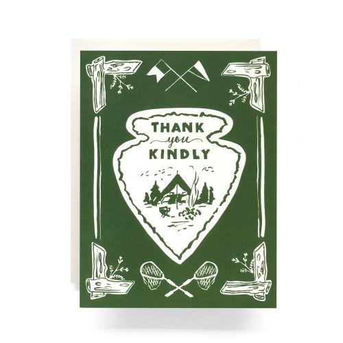 Arrowhead Thank You Greeting Card