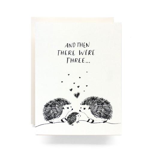 Baby Hedgehog Greeting Card