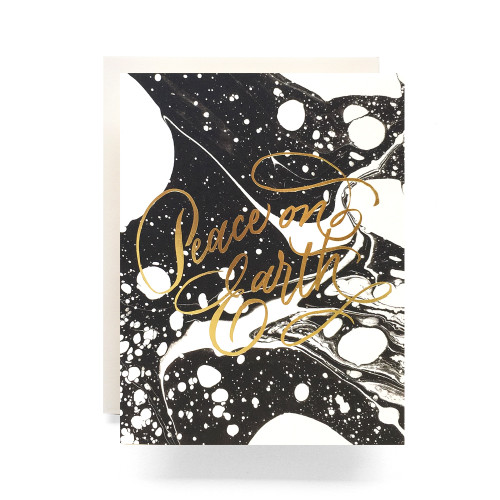 Marble Peace Greeting Card