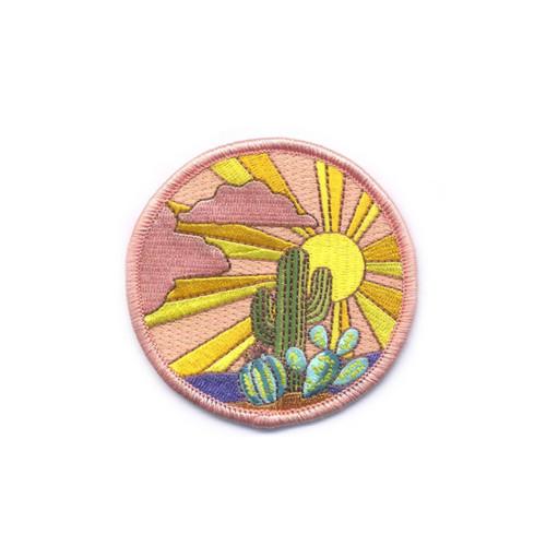 Sunset Cactus Patch