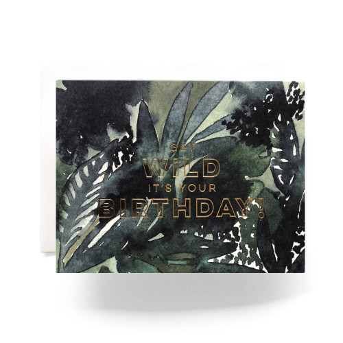 Wild Birthday Greeting Card