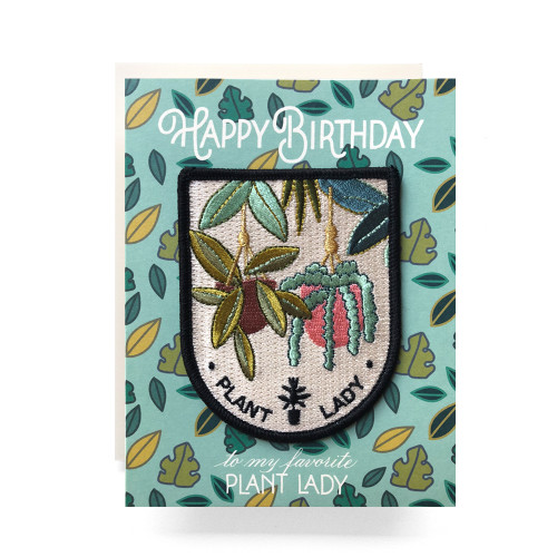 Patch Greeting Card | Plant Lady Birthday