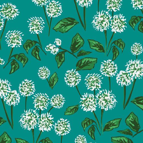Emerald Allium Wrapping Sheet, 20x29
