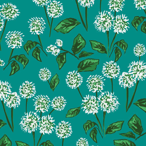 Emerald Allium Wrapping Sheet, 20x29