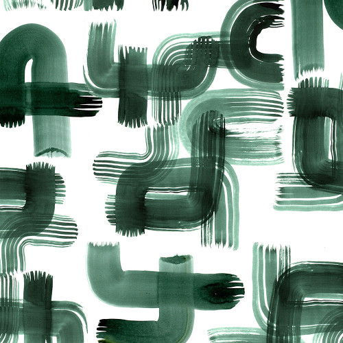 Green Strokes Wrapping Sheet, 20x29