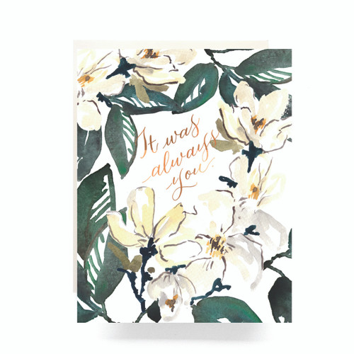 Magnolia Always You Greeting Card