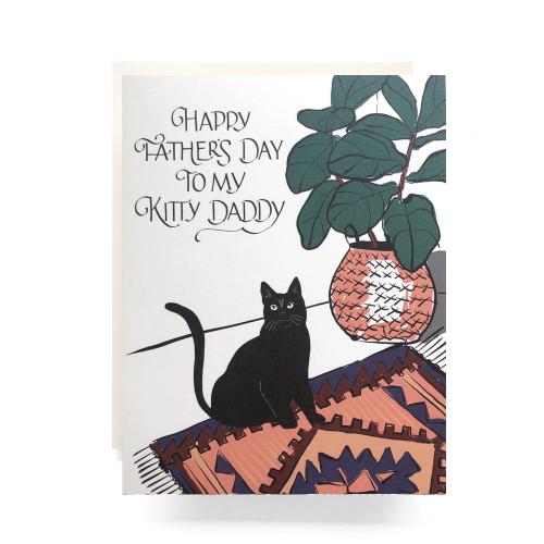 Kitty Daddy Greeting Card