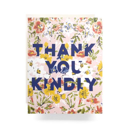 Amelia Thank You Greeting Card