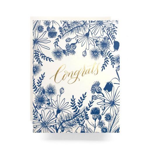 Meadow Congrats Greeting Card