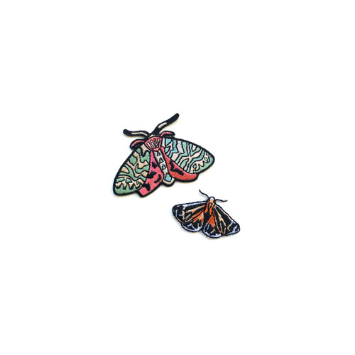 Moths Patches, set of two