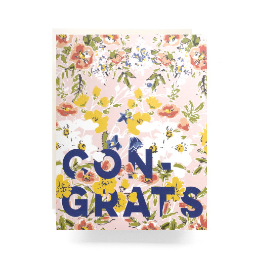 Amelia Congrats Greeting Card
