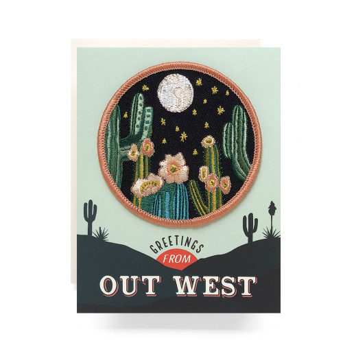 Patch Greeting Card | Out West