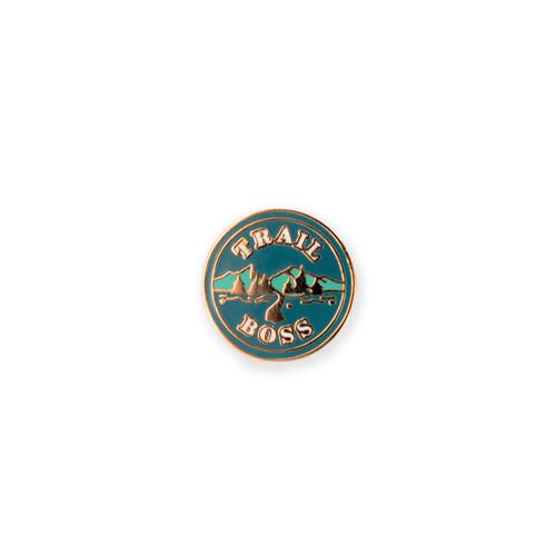 Trail Boss Enamel Pin